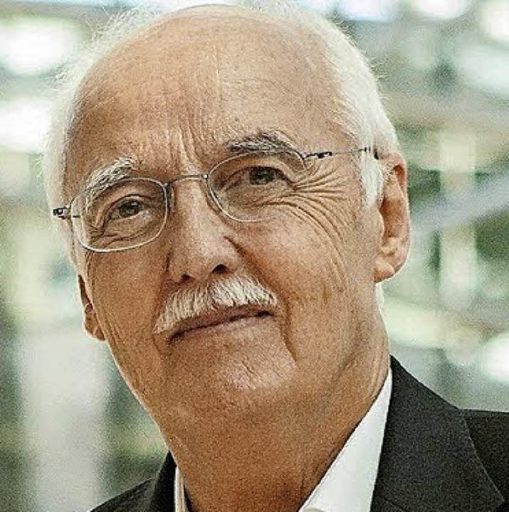 Horst W. Opaschowski ist im Burghof  Gastreferent.   | Foto: Privat