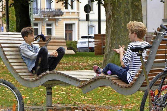 Naherholung in der Stadt: Die Lörracher Parks