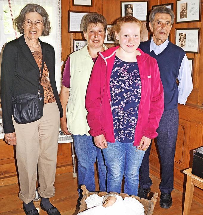 Hildegard Seger (ganz links) hat mit H...r ihrer Mutter Silvia auch mit dabei.   | Foto: Wehrle