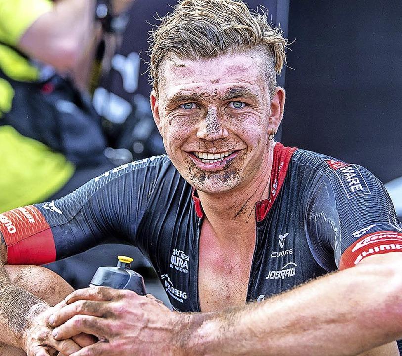 Georg Egger hat gut lachen: Rang 22  beim Weltcup    Foto: Armin M. Küstenbrück