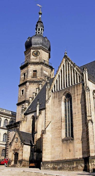 Die  Kirche St. Bartholomä in Offenburgs Partnerstadt Altenburg.   | Foto: Altenburg Tourismus