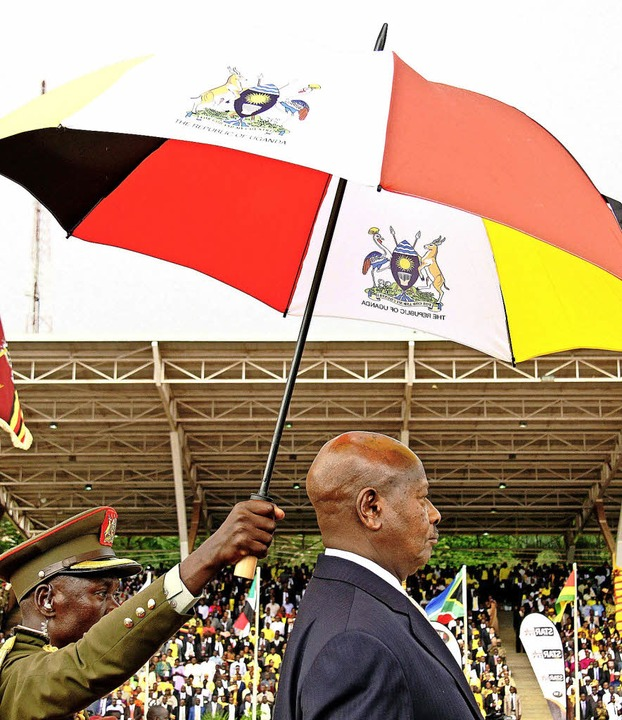 Ein Mann, der nicht abtreten kann: Ugandas Präsident Museveni    | Foto: afp