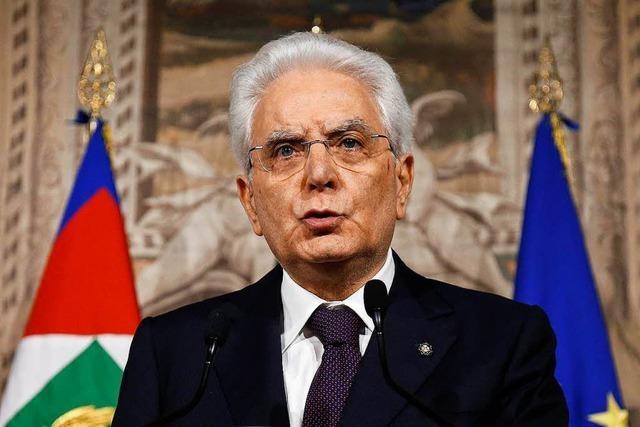 Die Euro-Debatte ist in Italien notwendig
