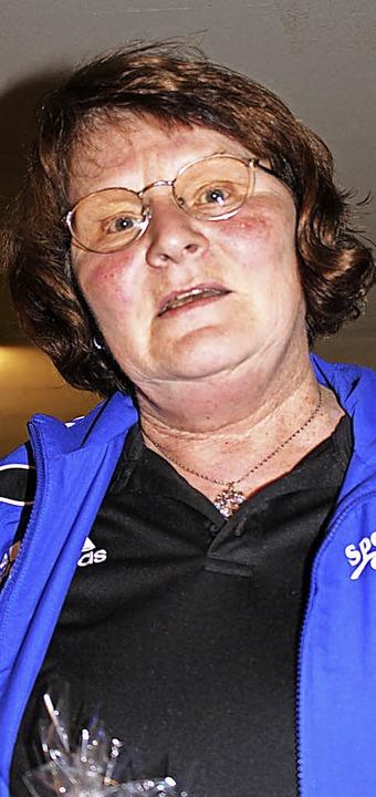 Karin Cosic vom SKV Bonndorf traf im E... Kegel und belegte den dritten Platz.   | Foto: Bächle