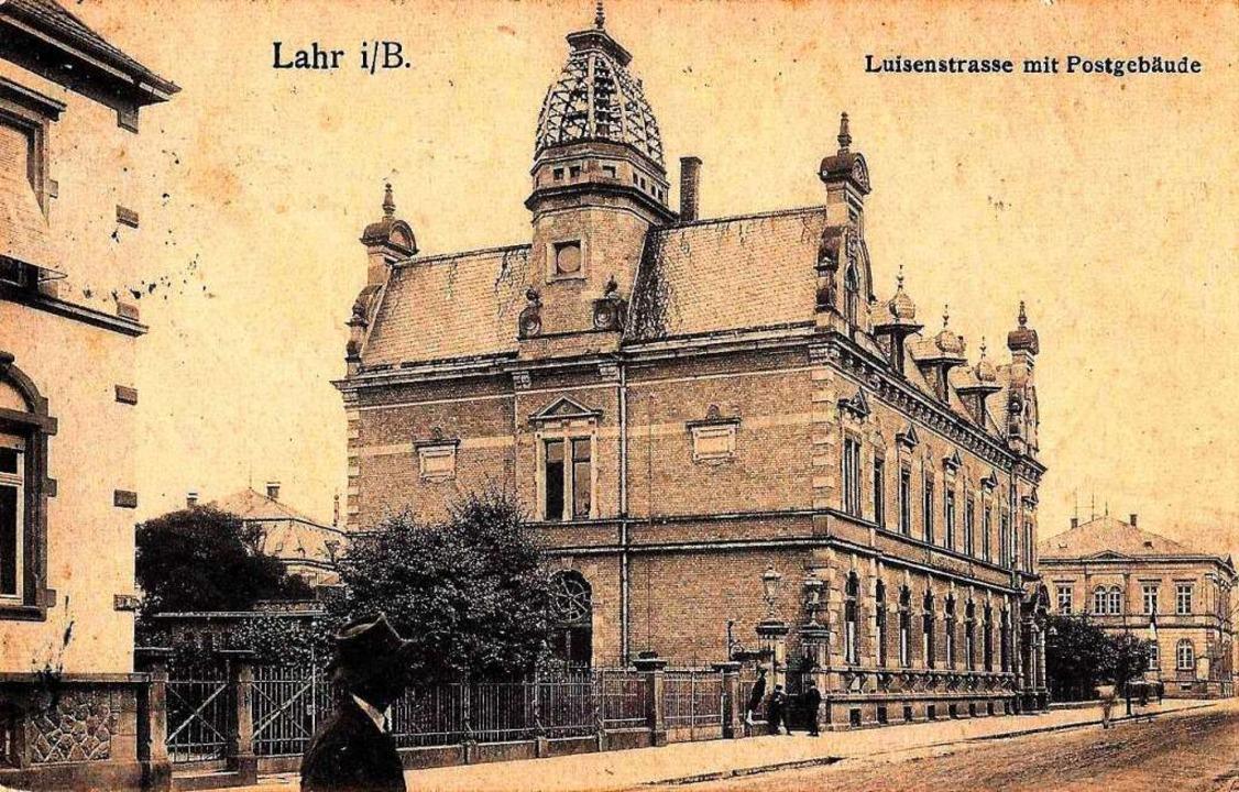 Ansichtskarte aus dem Jahr 1910    Foto: Manfred Eble