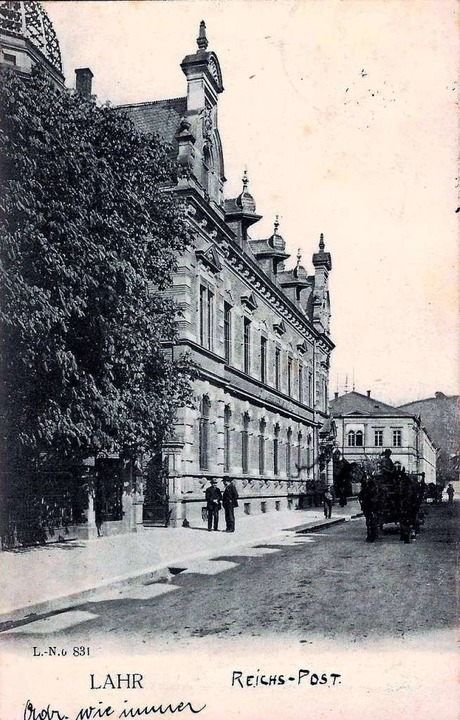 Als Fotografie 1914    Foto: Manfred Eble