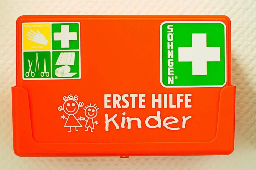 Wichtig: Erste-Hilfe-Kasten  | Foto: dpa