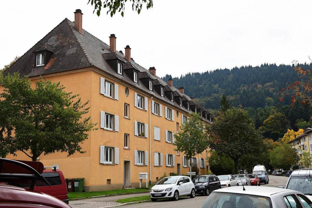 Die Familienheim-Häuser in der Quäkerstraße  | Foto: Rita Eggstein