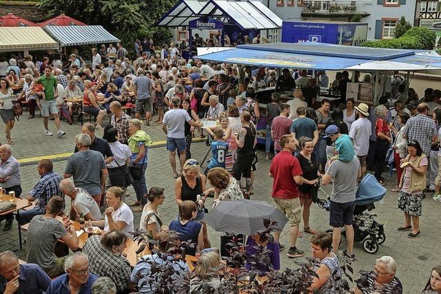 Hunderte feiern im Rohanhof