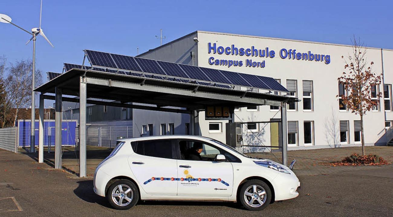Das Institut für Energiesystemtechnik ...m Campus Nord der Hochschule Offenburg  | Foto: Hochschule Offenburg