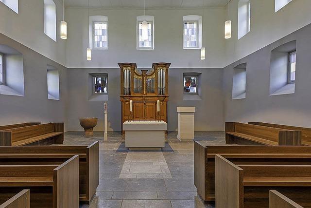 Altes Gotteshaus im Innern neu gestaltet