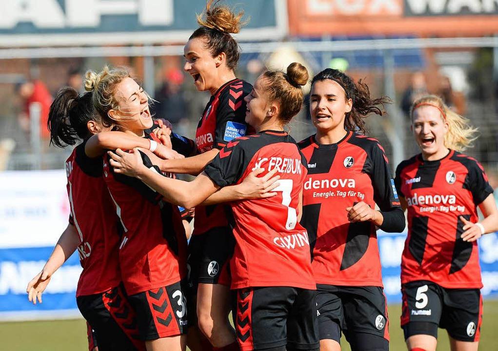 Die SC-Frauen sind in dieser Saison mi... auch einen großen Umbruch verkraften.    Foto: Patrick Seeger