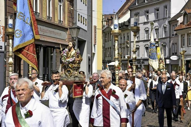 Tradition an Fronleichnam