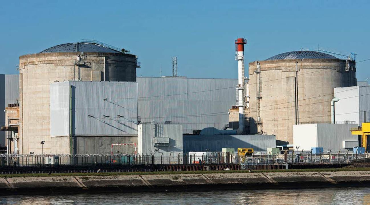Das Atomkraftwerk in Fessenheim in Frankreich    Foto: dpa