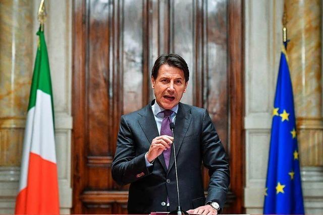 Fünf Sterne und Lega in Italien einigen sich erneut auf Regierung