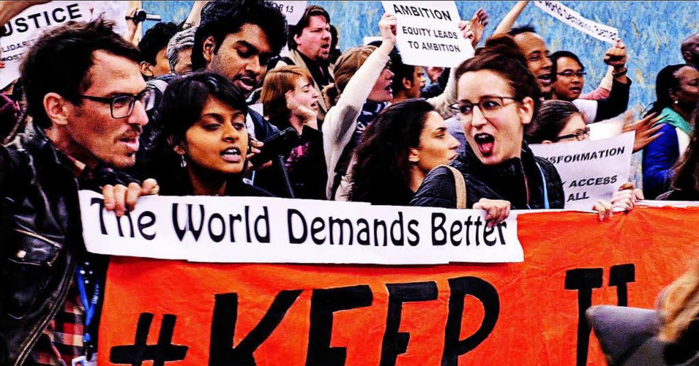 Klimaschutz: Ein Happyend ist nicht in Sicht.  | Foto: wfilm
