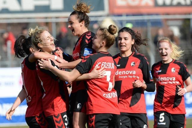 Acht Frauen verlassen den SC Freiburg zum Saisonende