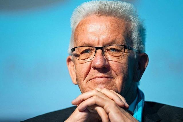 Ministerpräsident Kretschmann will Fahrverbote in Stuttgart abwenden
