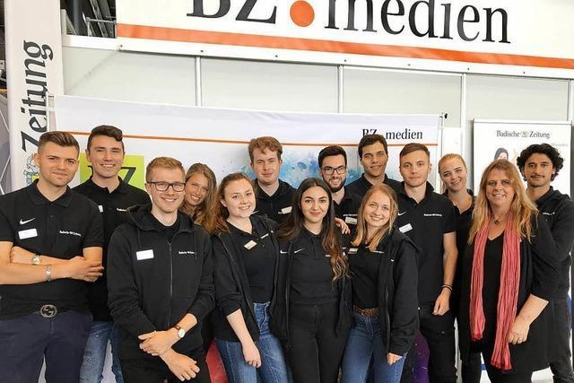Die Erste Job-Start-Börse als BZ.medien