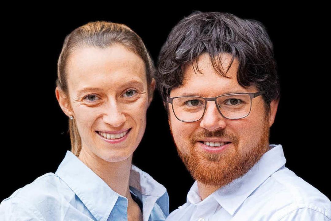 Die Ihringer Ökowinzer Sonja-Luisa und Hannes Pix  | Foto: Michael Wissing