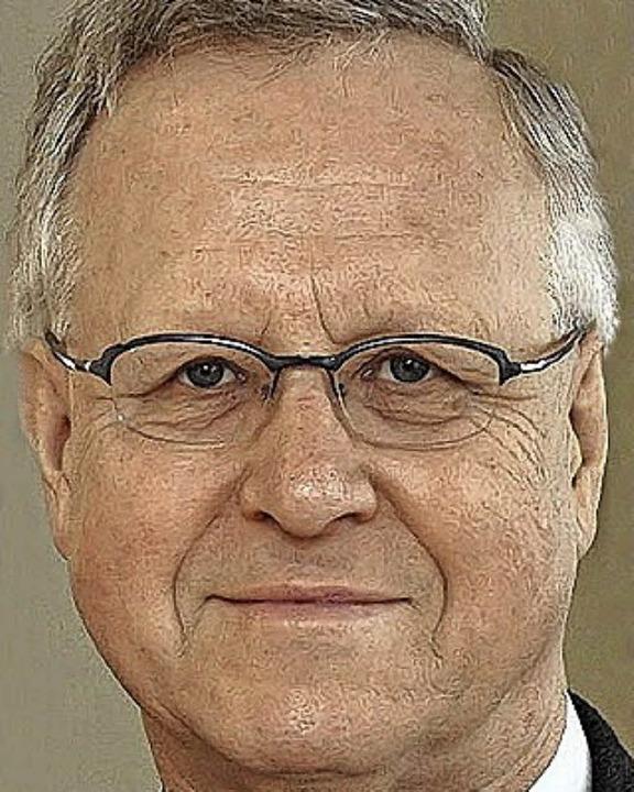 """Wolfgang Jäger: """"Als Lügner stellte Kennedy Trump in den Schatten.""""    Foto: Ingo Schneider"""
