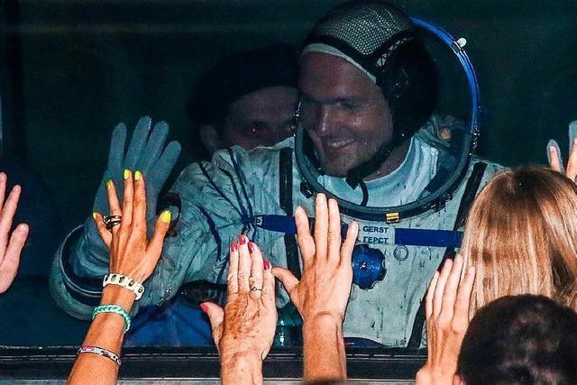 Vor Gerst-Start ins All: Drei Raumfahrer kehren von ISS zurück