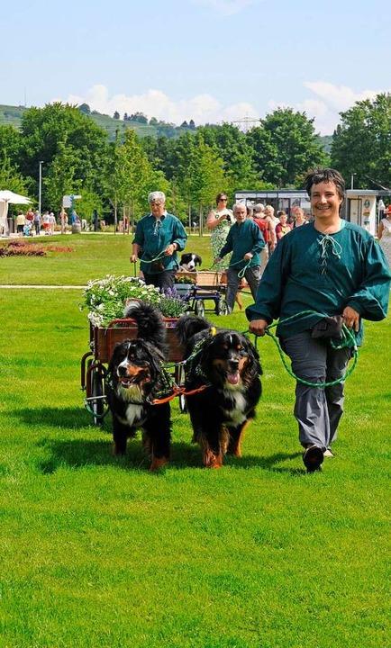 Tag des Hundes auf der Lahrer Landesgartenschau  | Foto: Bettina Schaller