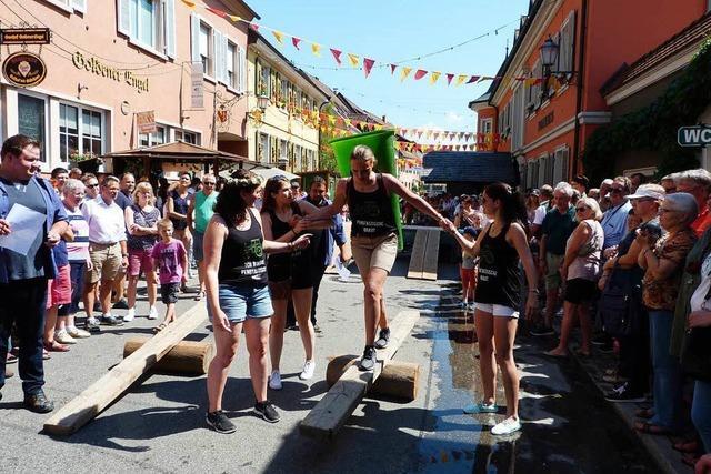 Rundum gelungene Weintage in Ihringen
