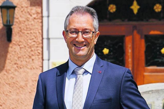 Andreas Graf ist neu gewählter Bürgermeister von Lenzkirch