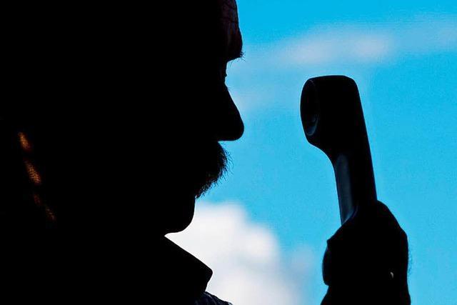 Betrüger geben sich am Telefon als Polizisten aus