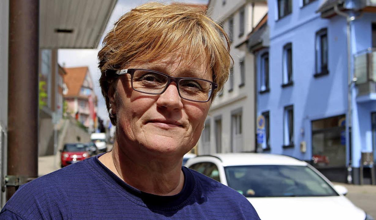 Die 48-jährige Andrea Wilhelm will dem... neuen Mitgliedern und Jugendleitern.   | Foto: Guy Simon