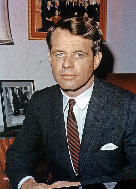 Er wurde nur 42: Robert F. Kennedy   | Foto: dpa