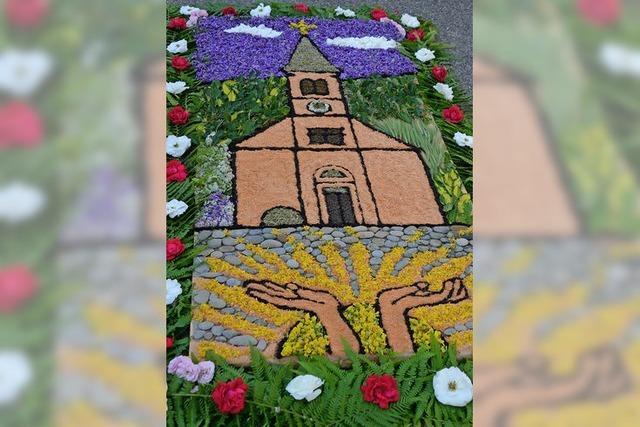 Prächtiger Blumenteppich