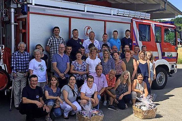 Besuch aus Mehun bei der Feuerwehr