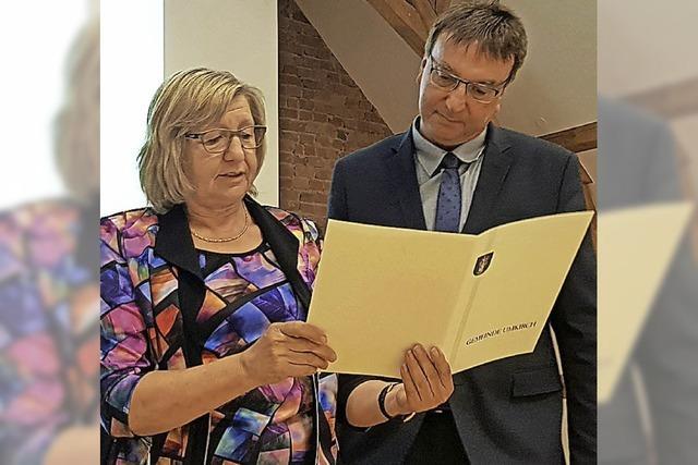 Walter Laub als Bürgermeister offiziell im Amt