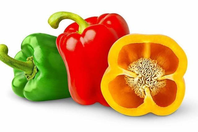 Mild und kalorienarm: die Paprika