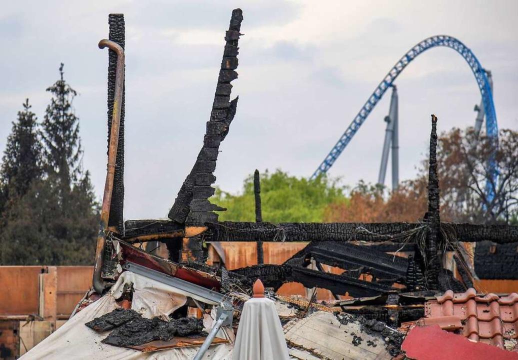 Nach dem Brand  | Foto: dpa