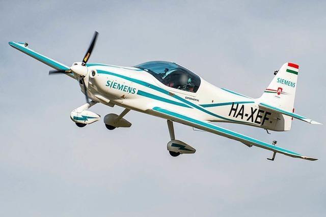 Testflugzeug mit Siemens-Elektroantrieb abgestürzt – zwei Tote