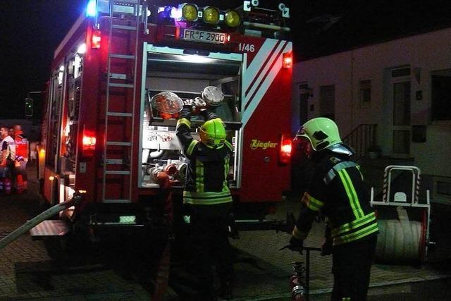 Feuerwehreinsatz durch Kellerbrand