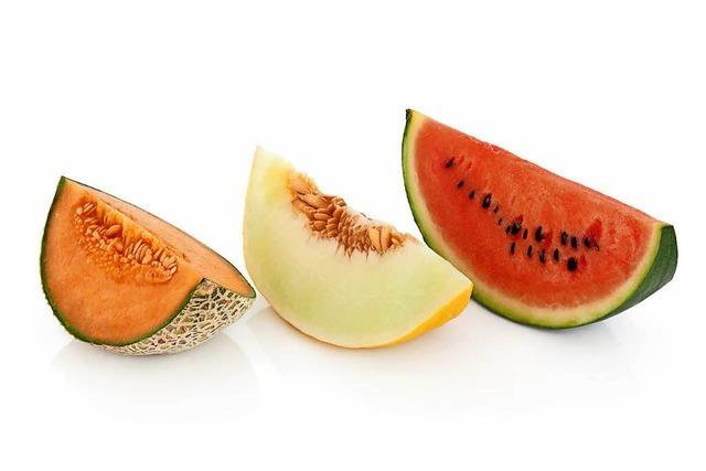 Macht die Augen fit: die Melone