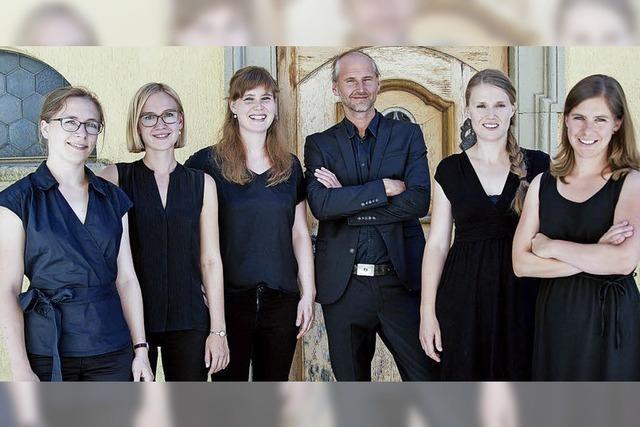 Das Flauto Consort Freiburg spielt beim Ebneter Kultursommer