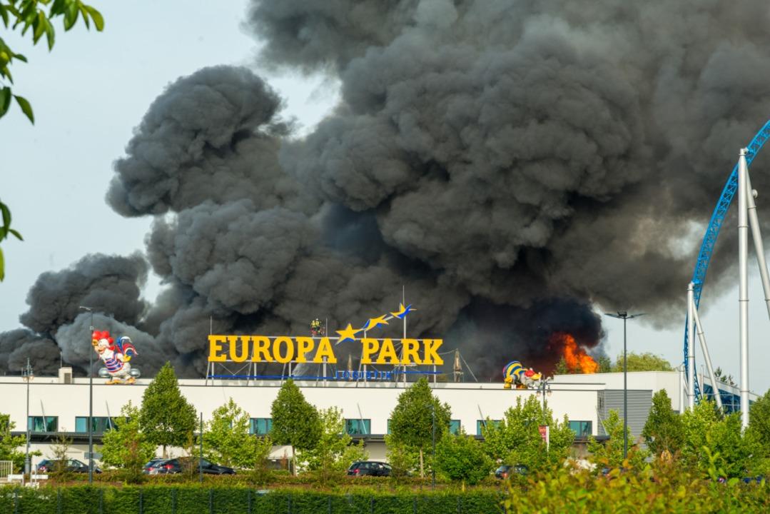 Hier gehen die Piraten in Rauch auf.  | Foto: Olaf Michel