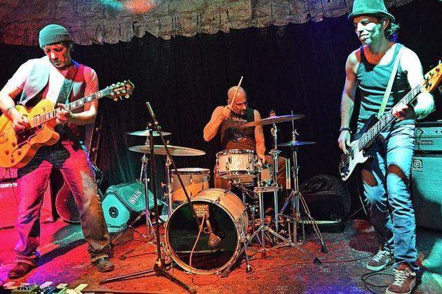 6up Blues Band gibt am Samstag Konzert in Minis Musicbar