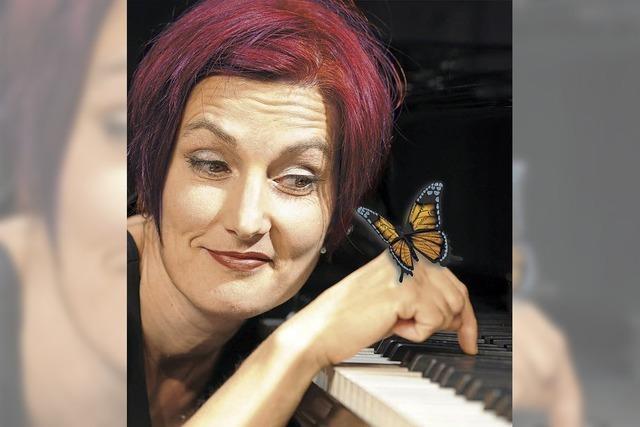 Esther Hasler gibt am Freitag, 15. Juni, Vorstellung im Kornhauskeller in Frick/Schweiz