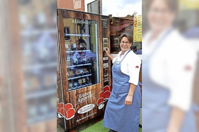 Grillwurst vom Automaten