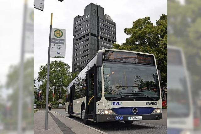 Verbesserungen bei einigen Buslinien