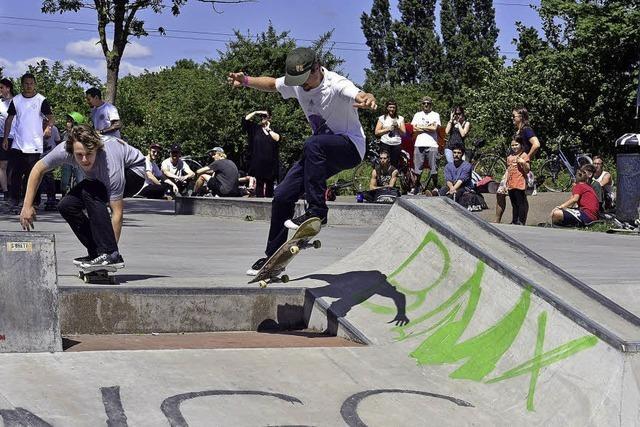 Skatecontest im Dietenbachpark