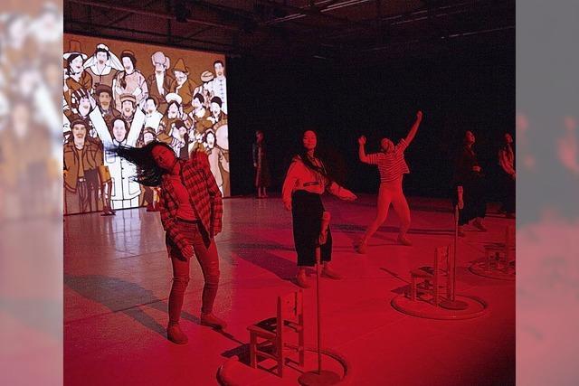 Tanzperformance Minorities am 9. 6. im E-Werk Freiburg