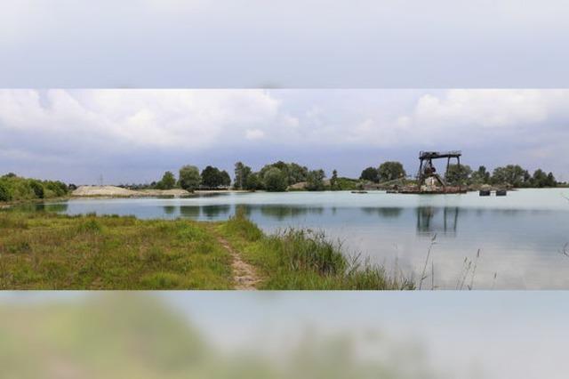 Größerer Strand für den Baggersee