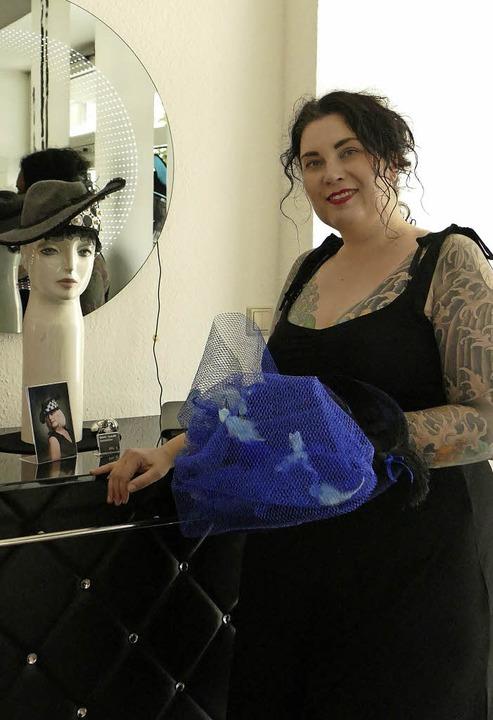 Mirija de Pauke in ihrem Atelier.   | Foto: Annika Sindlinger